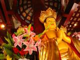 Buddha in the Hanshan Temple, near Suzhou