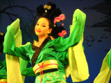 One of the pretty girls at the Tang Dynasty Show, Xi'an