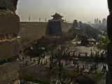 The city walls of Xi'an