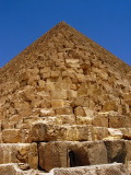 At the base of the Great Pyramid