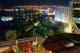 Eilat Bay at night
