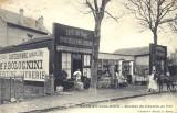 Arrière du commerce sur l'avenue Anatole France