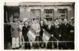 Devant la gare 6 Juin 1948