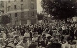 Inauguration de la Place du Gal. Leclerc 1948   -  Carte-photo