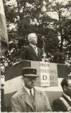Ceremonie dans le parc Dumont  le 6 Juin 1948   -   Carte-photo