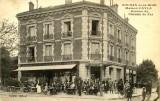 Café du passage a niveau - Maison Cayla, Auguste, Besombes
