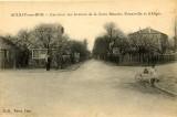 Carrefour Croix blanche et Nonneville - Carrefour du Gibet avant 1900