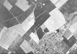 Savigny, vue aerienne en 1962