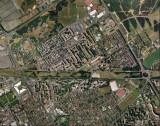 Savigny, vue aerienne en 2000