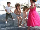 Trampoline in Kidsville