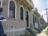 A Row of Century Old Shotgun Houses