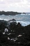 Waianapanapa - Black Lava Rocks