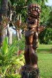 Old Lahaina Luau - Statue