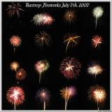 July 7th, 2007 - Bastrop Fireworks 2007