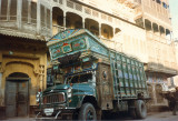 Truck and building - Peshawar
