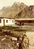 Batura Inn yard