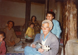 Rabab player Bashran Ali and family