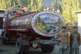 Tank truck in Gilgit