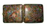 Chinese cloisonne cigarette box