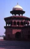 Taj Mahal-rear corner tower