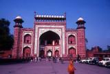 Taj Mahal-front gate