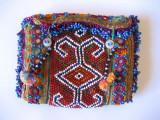 Beaded wallet-folded