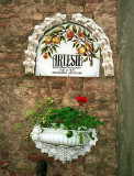 Certaldo: Artesia Pottery entrance, 2000