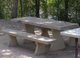 Concrete Table in Jungle..