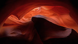 Dark Impressions of Antelope Canyon, in 16 x 9
