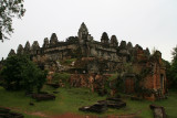 Phnom Bakheng is a mountain temple consisting of five square terraces of diminishing size