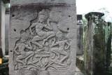 apsaras in temple Bayon
