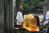 entering temple Bayon