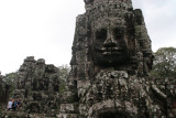 Bayon's distinctive feature is the smiling faces on the towers