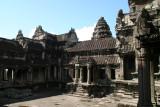 on top of Angkor Wat