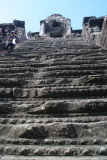 steep stairs to climb up to the 5 towers