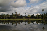 Khmers left Angkor Wat in 1432, after that it was lost in the jungle until a French explorer, Henri Mouhot, found it in 1860