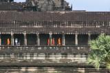 walls of Angkor Wat