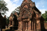 Banteay Srei is known for its elaborate carvings
