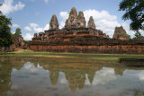 another temple mirrored in the pool