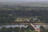 Angkor Wat from balloon