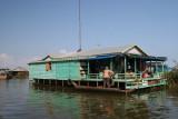 Tonle Sap lake near Siem Reap