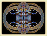 Four-Corners Southwestern Mandala Of Sand - Founded In Chaos & Brought To Me For 'Dis Order