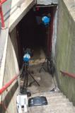 Lighting the tunnel.
