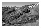 Galibier to Mont Blanc view