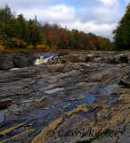 Rocks at Canada Creek Falls