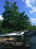Buttermilk Falls Adirondack Mts.