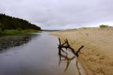 Zandbank Golf van Riga