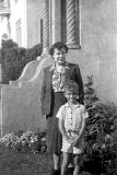 Grandma Ury and Chris, 1944