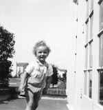 Chris at Urbano Drive House, 1941