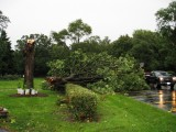 Storm Hits Redemptorist House Chicago 23rd August
